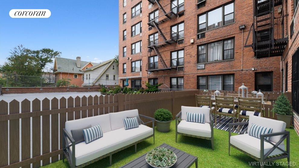 New York City Real Estate | View 415 Beverley Road, #1L | 1 Bed, 1 Bath