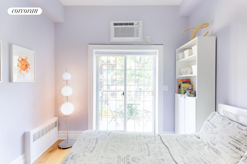 New York City Real Estate | View 207 22nd Street, #2A | 2nd Bedroom with outdoor balcony
