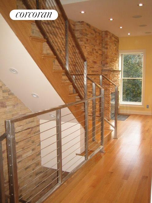 contemporary staircase throughout