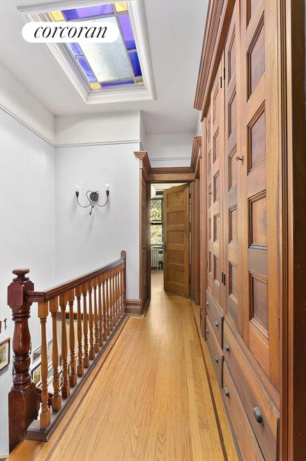 Original woodwork has been preserved throughout.