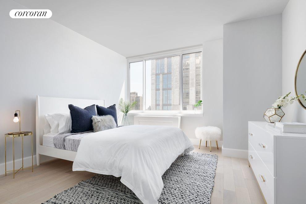 New York City Real Estate | View 389 East 89th Street, #28A | South facing third bedroom