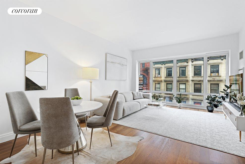 New York City Real Estate | View 33 West 56th Street, #6D | 1 Bed, 1.5 Baths
