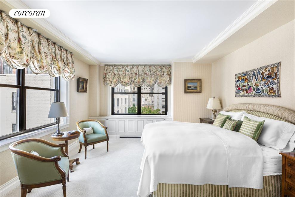 New York City Real Estate | View 610 Park Avenue, #9C | Master Bedroom