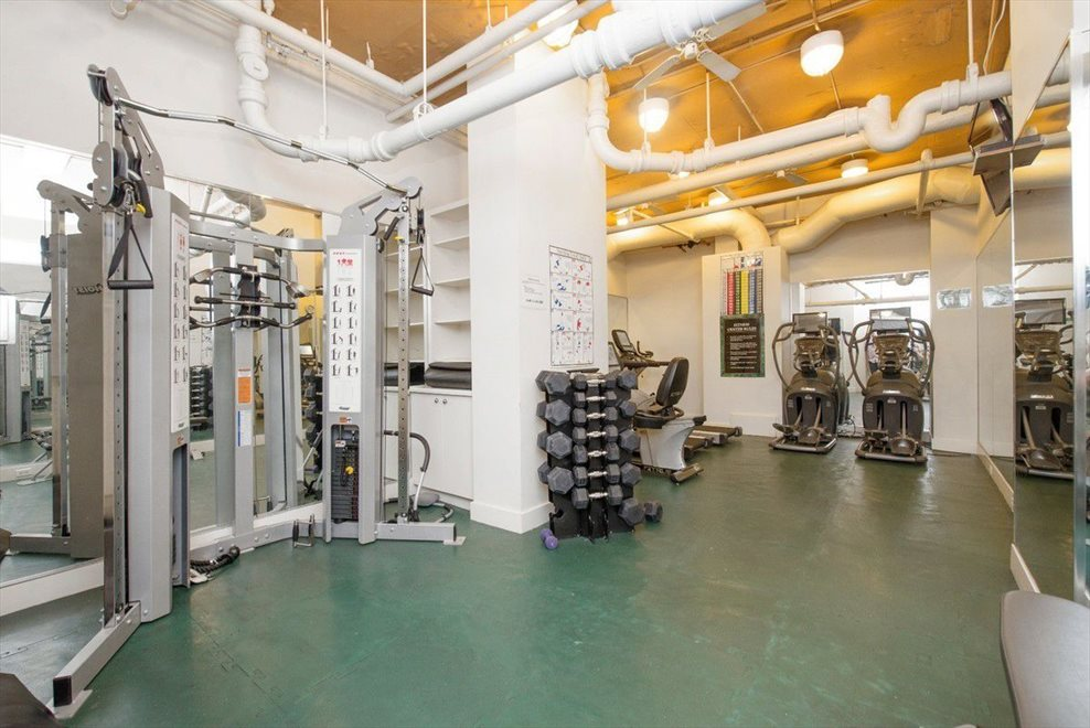 New York City Real Estate | View 440 East 79th Street, #9F | Fitness center always open & costs $300 per year.