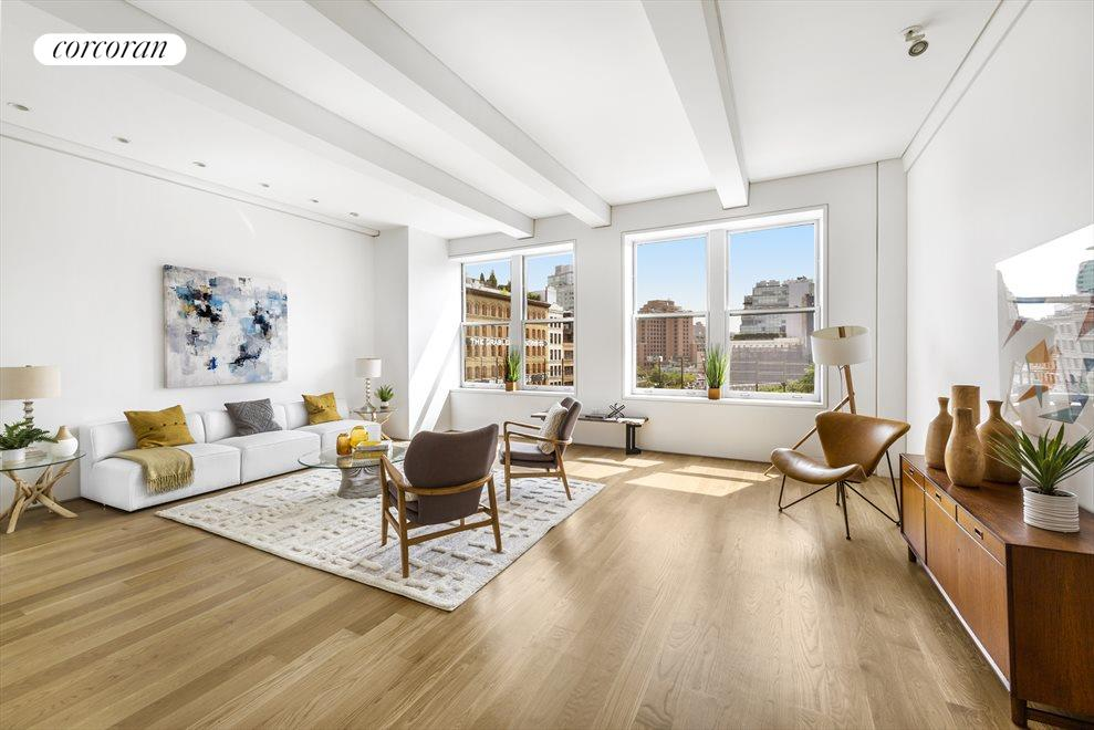 New York City Real Estate | View 161 HUDSON ST, #5C | 2 Beds, 2 Baths