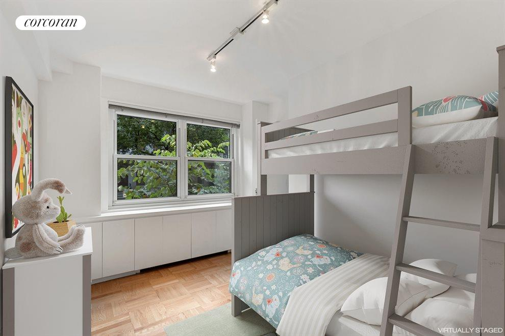 Virtually Staged 3rd Bedroom