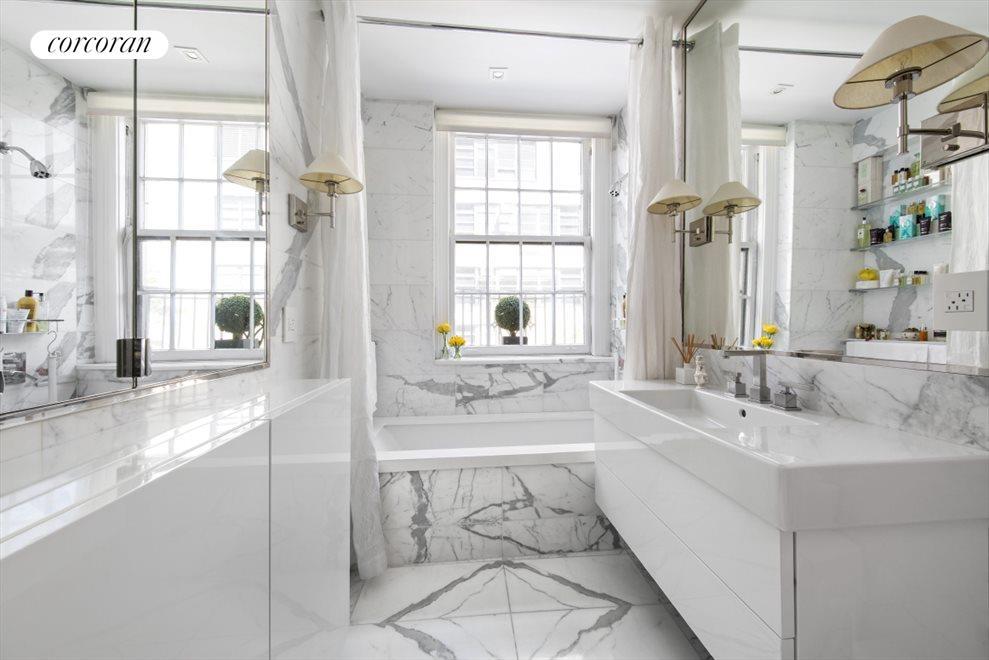 Luxurious Master Bath with heated floors