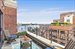 5 Riverside Drive, 19D, Living room terrace with Hudson River Views
