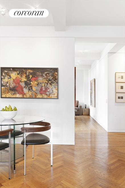 Plenty of wall space for artwork