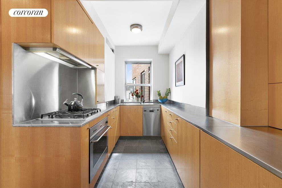 South-facing kitchen