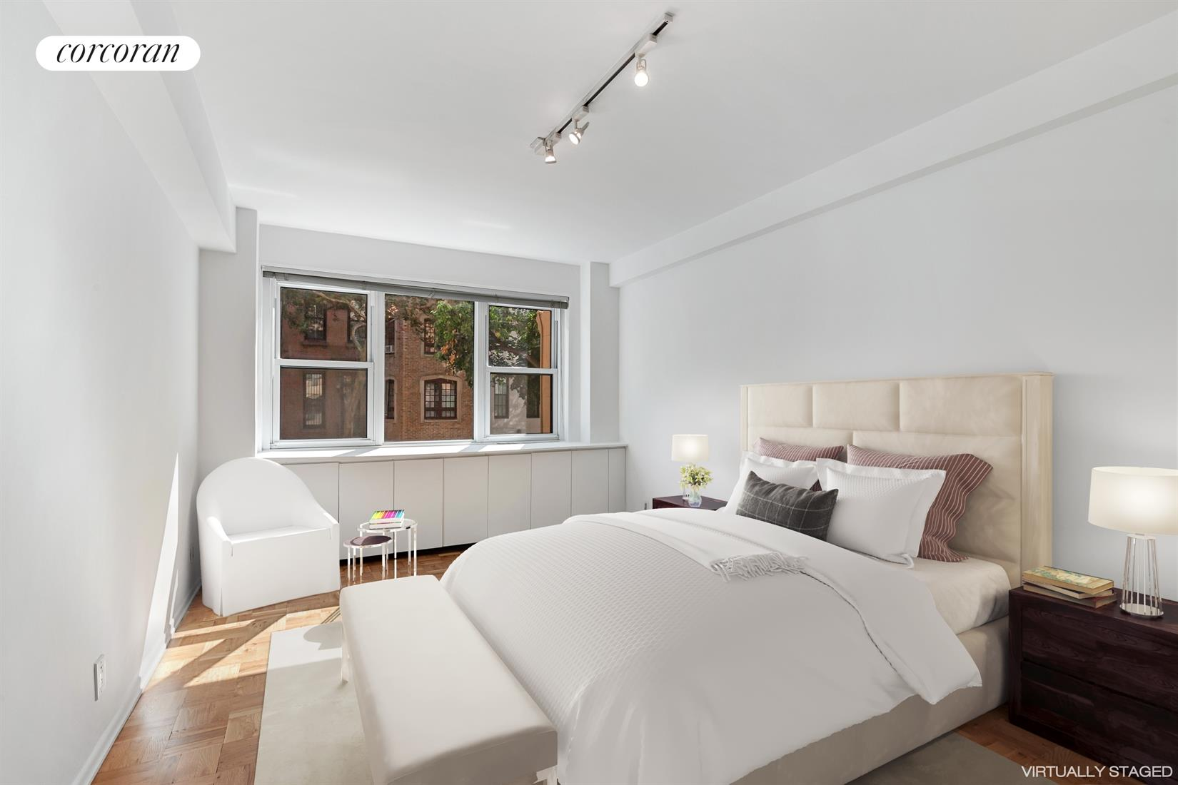 315 East 69th Street, 2JK, Virtually Staged Living Room