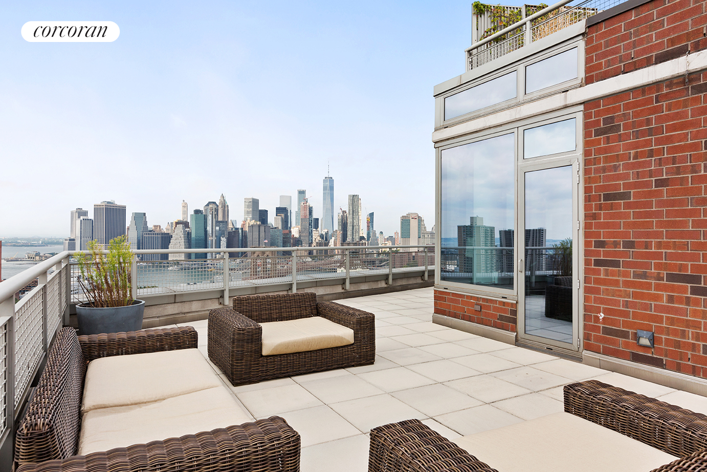 100 Jay Street, 31D, 1700 SF Private Roofdeck with Views