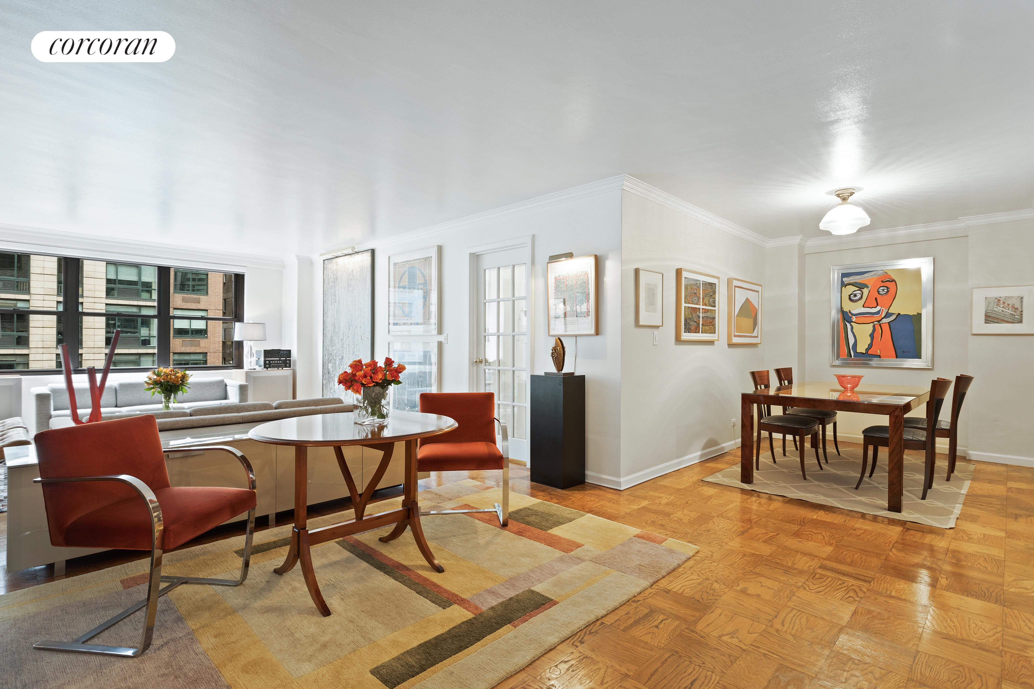 225 East 57th Street, 7G, Living Room
