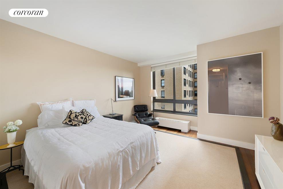 New York City Real Estate | View 100 United Nations Plaza, #9B | East-facing second bedroom