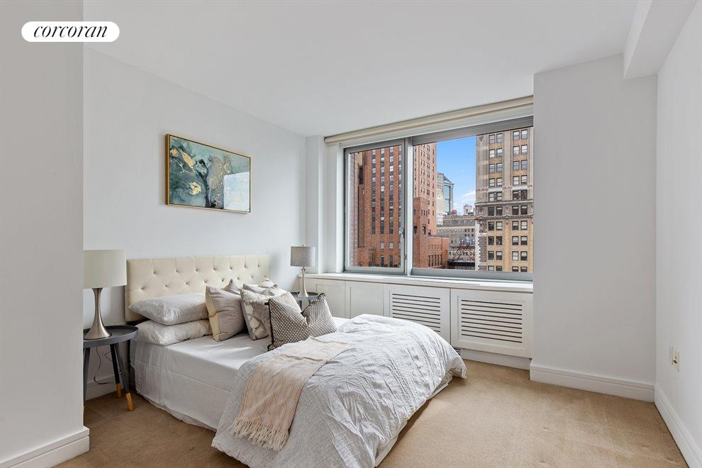 New York City Real Estate | View 30 West Street, #27E | Spacious 2nd Bedroom