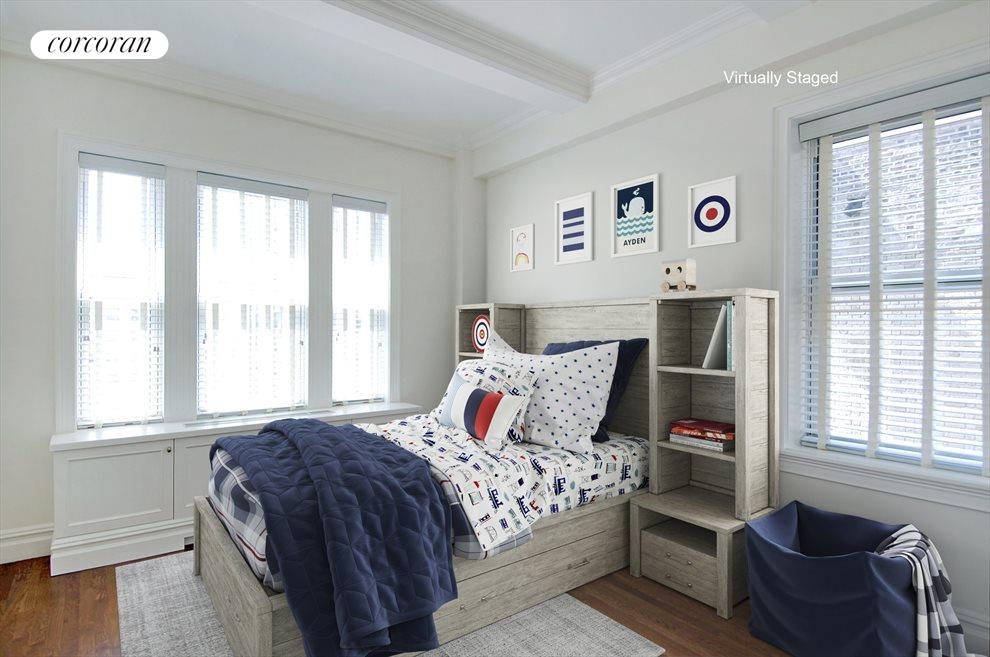 Sunny corner 2nd bedroom