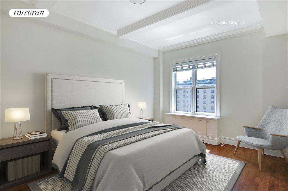 South facing master bedroom suite