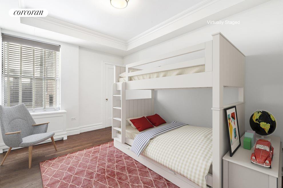 Third bedroom with en-suite half bath
