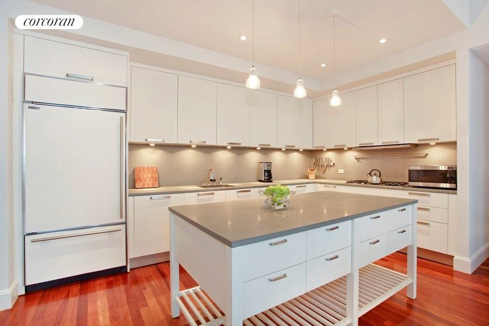 Open Chef's Kitchen with High End Appliances
