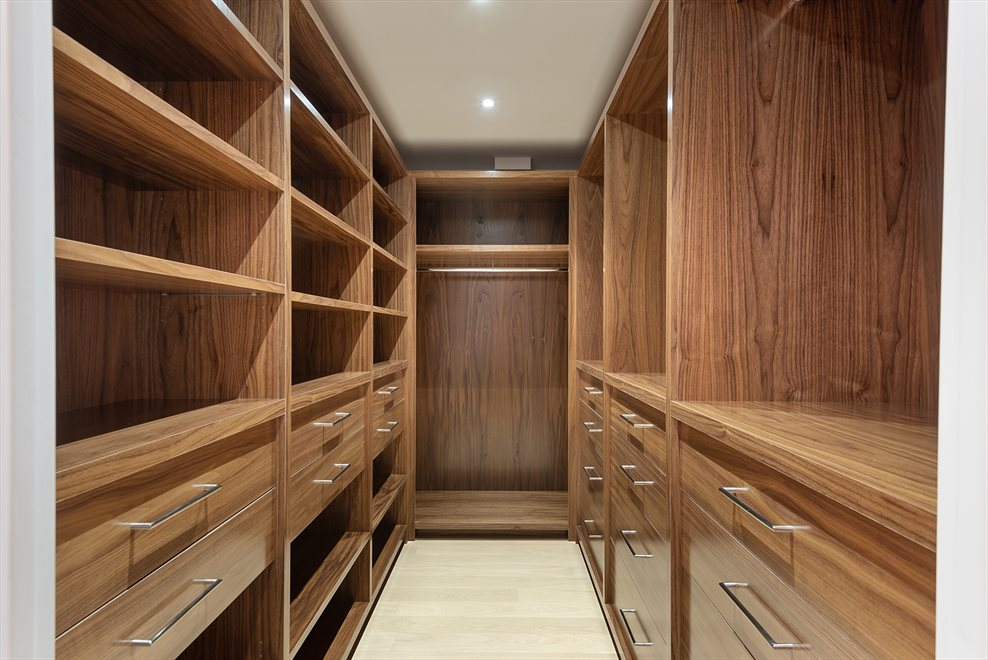Custom Fitted Closet