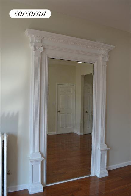 Master Bedroom Built in Mirror