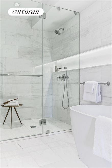 Detail of master bathroom