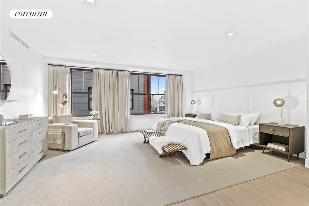Grand Master Bedroom suite