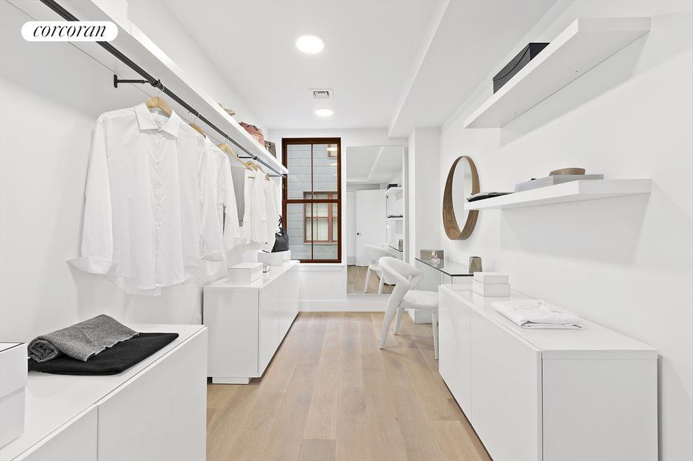 Exceptional Master Closet/Dressing Room