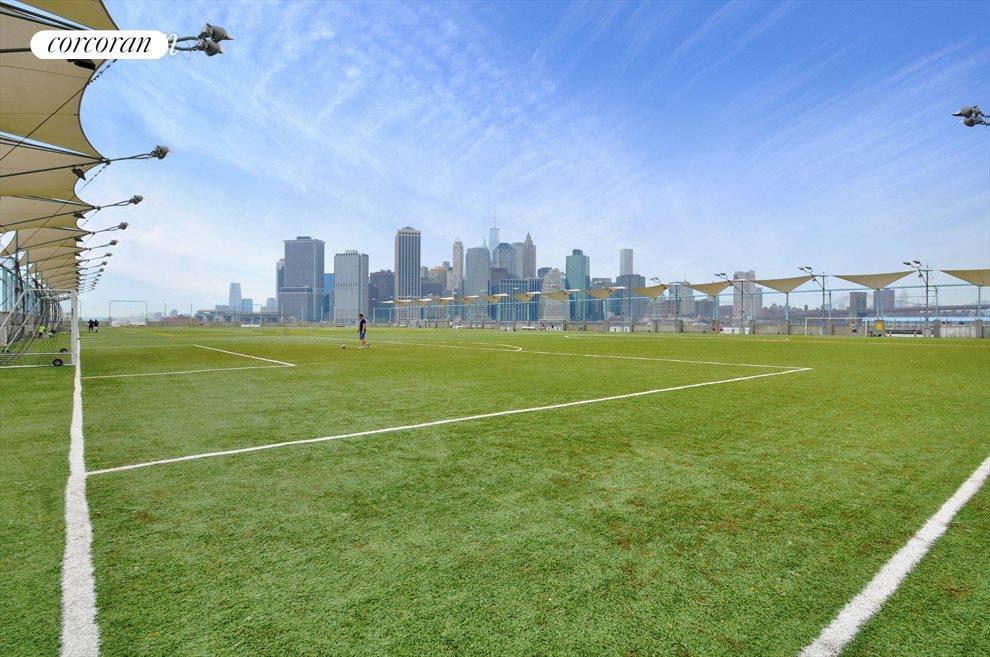 Soccer pier