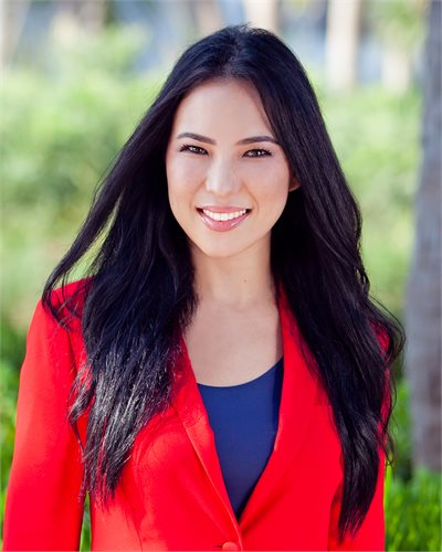 Viktoriya Ho, a top realtor in South Florida for Corcoran, a real estate firm in Surfside / Bal Harbour.