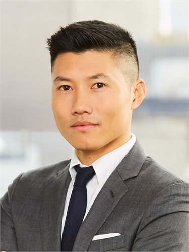 Dan Chen, a top realtor in New York City for Corcoran, a real estate firm in Park Slope.