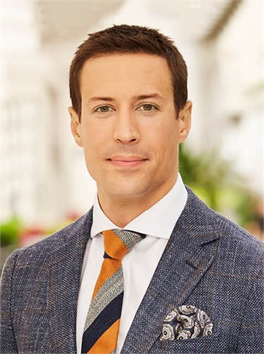 Max Nehrig, a top realtor in New York City for Corcoran, a real estate firm in Chelsea/Flatiron.