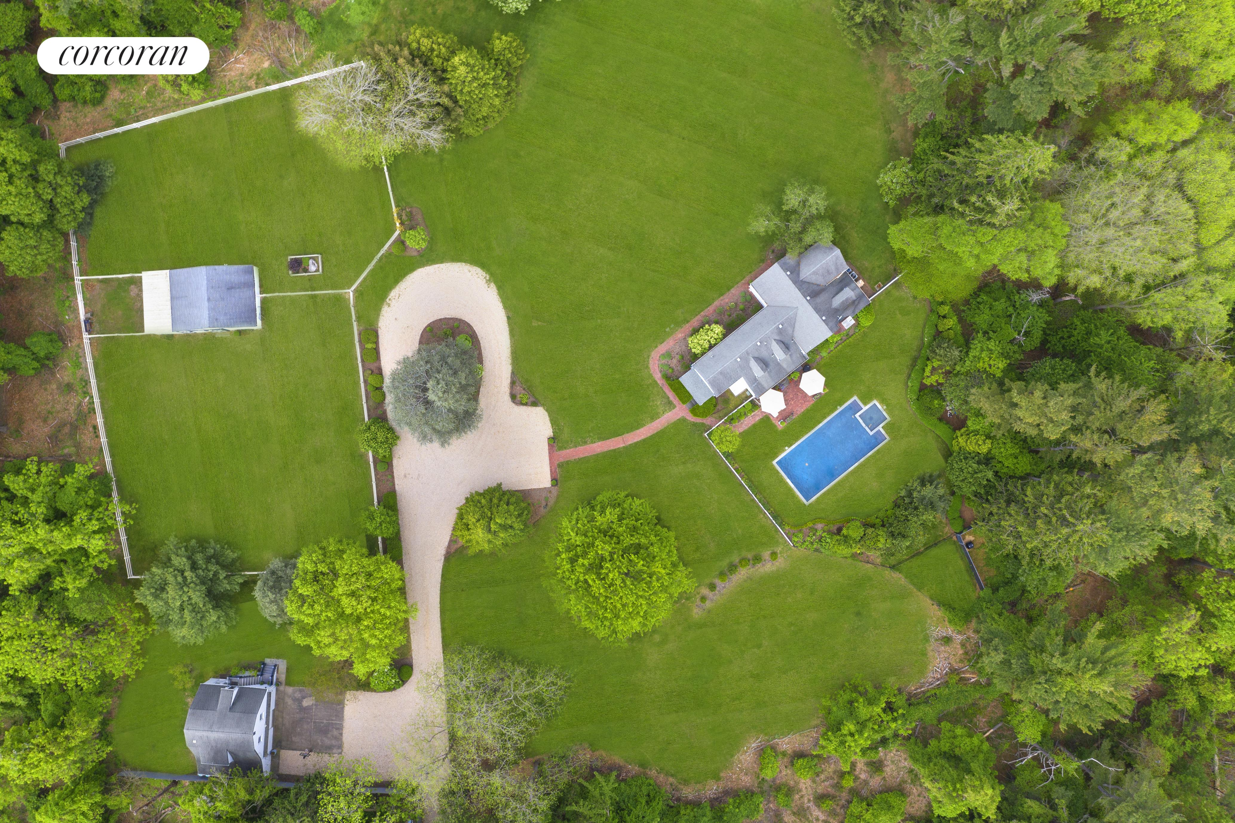 117 Sound Rd, Aerial of 2.64 acres