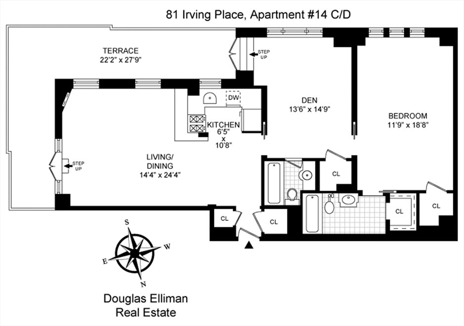 New York City Real Estate | View Irving Place | Floorplan 1
