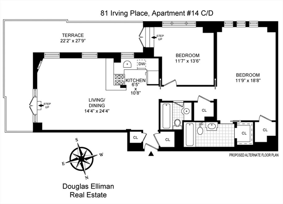 New York City Real Estate | View Irving Place | Floorplan 2