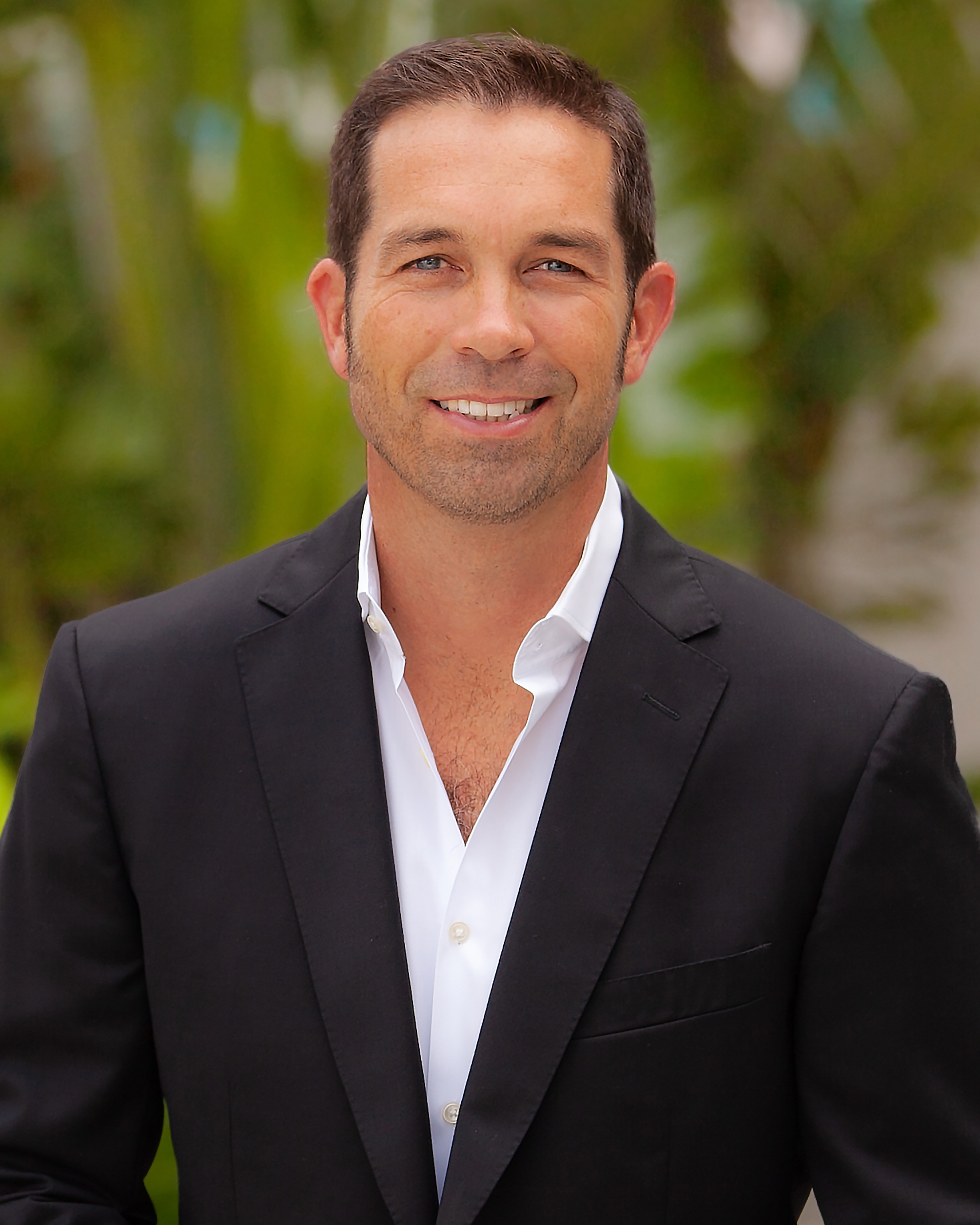 Julian Johnston, a top realtor in South Florida for Corcoran, a real estate firm in Miami Beach.