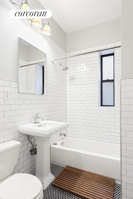 Clean Windowed Bathroom
