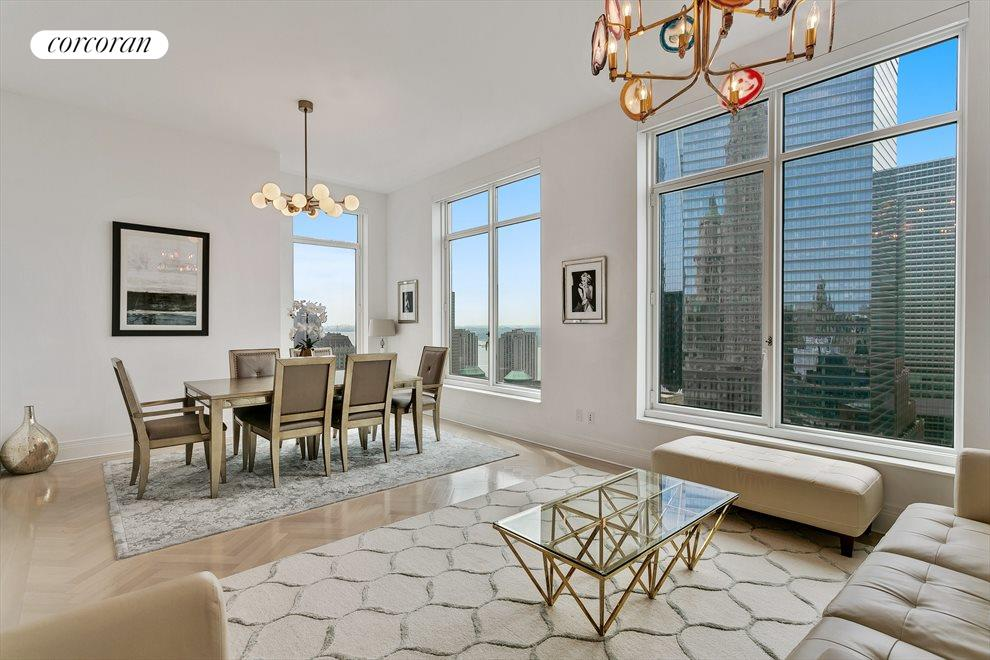 New York City Real Estate | View 30 PARK PLACE, #40E | 3 Beds, 2.5 Baths