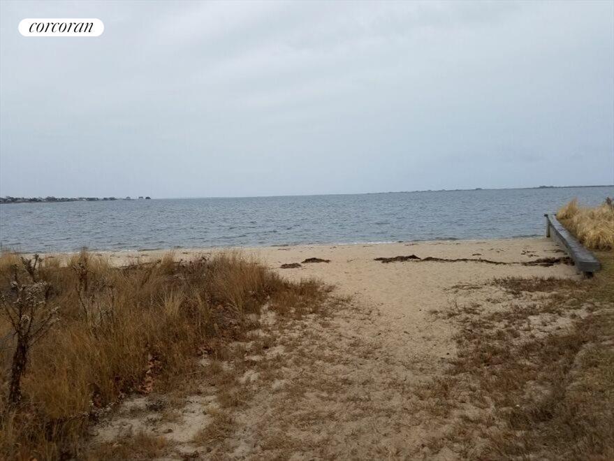 stroll along the bay beach