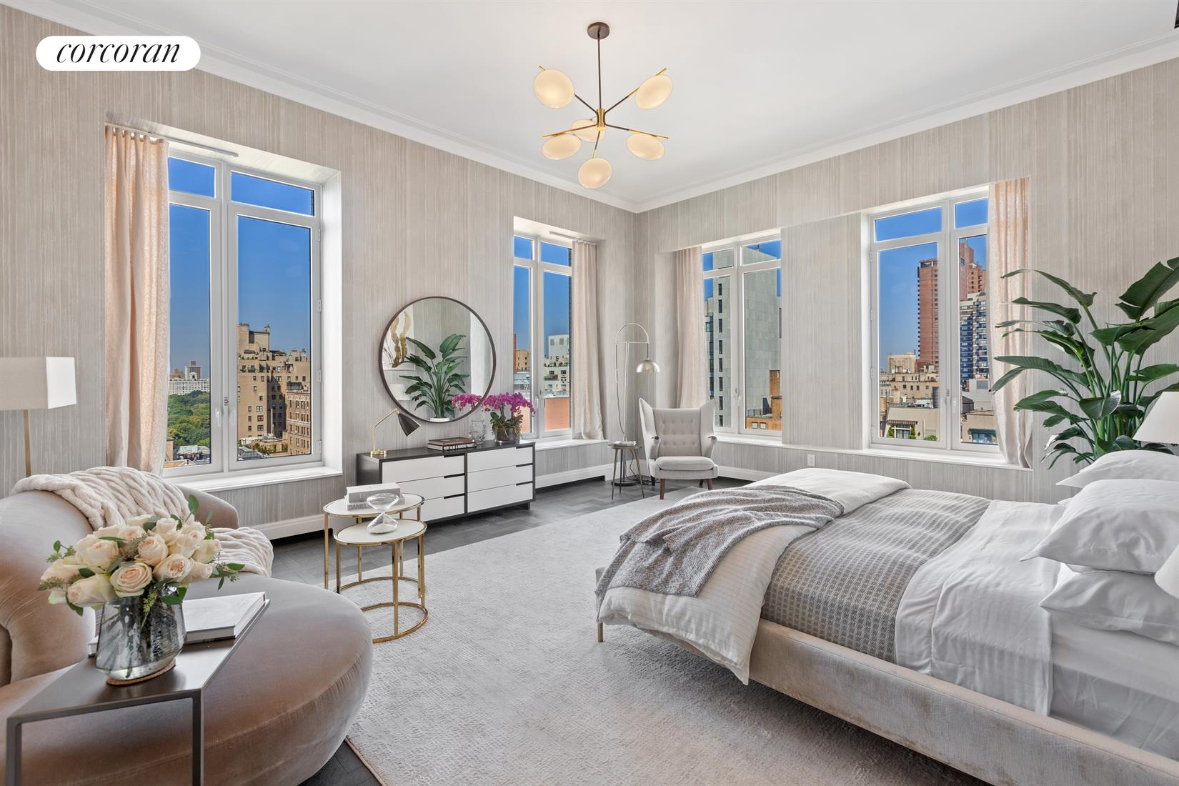 1010 Park Avenue, PENTHOUSE, Gracious Living Room