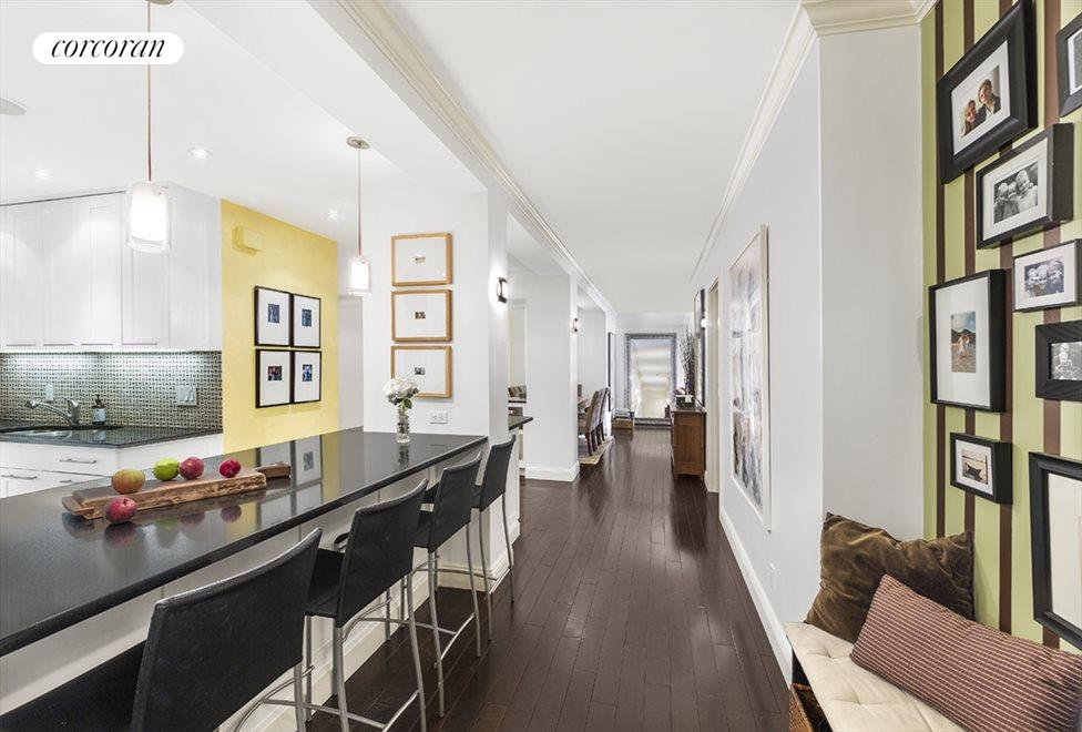 New York City Real Estate | View 285 Riverside Drive, #7C | Entrance Gallery