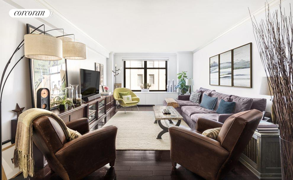 New York City Real Estate | View 285 Riverside Drive, #7C | Living Room