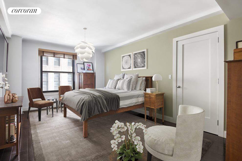New York City Real Estate | View 285 Riverside Drive, #7C | Master Bedroom