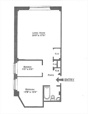 New York City Real Estate | View 15 West 67th Street, #5RW | Floorplan