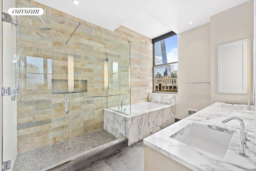 Luxurious Master Bath with Deep Soaking Tub