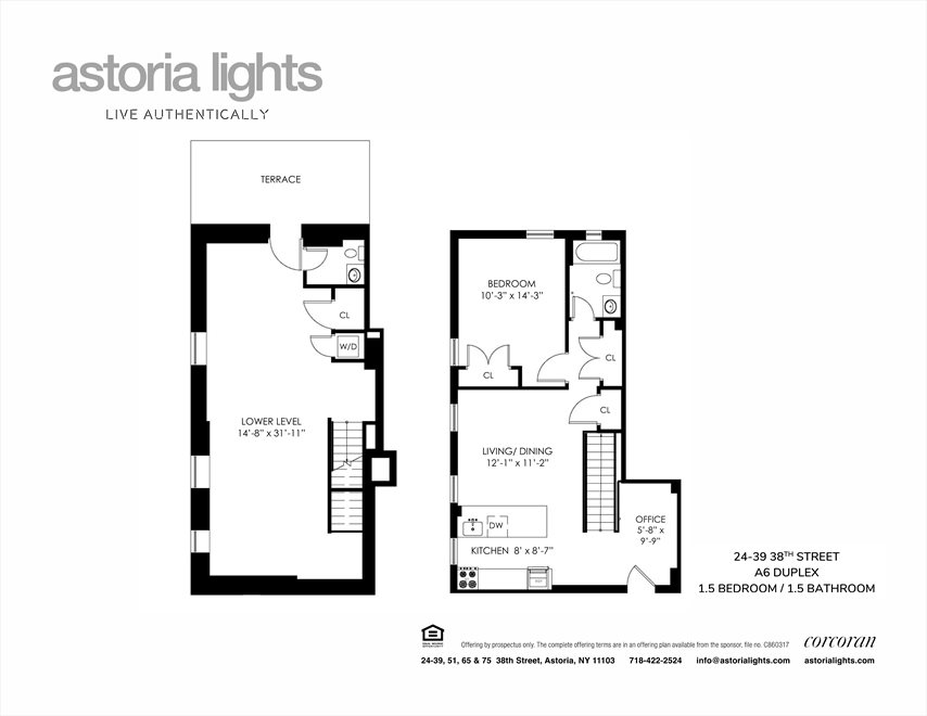 New York City Real Estate | View 24-39 38th Street, #A6 | Floorplan