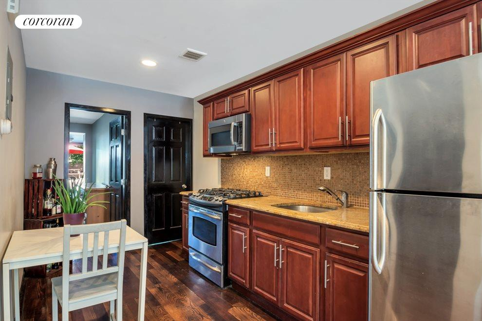 Functional Galley Style Kitchen
