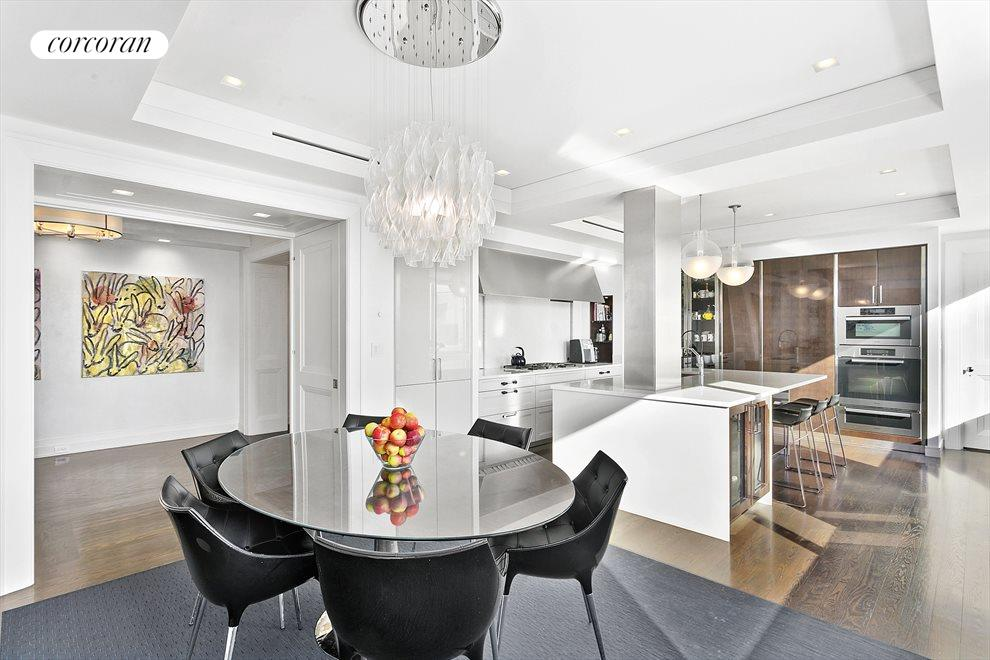 New York City Real Estate | View 1965 Broadway, #PH2B | Eat-in Kitchen