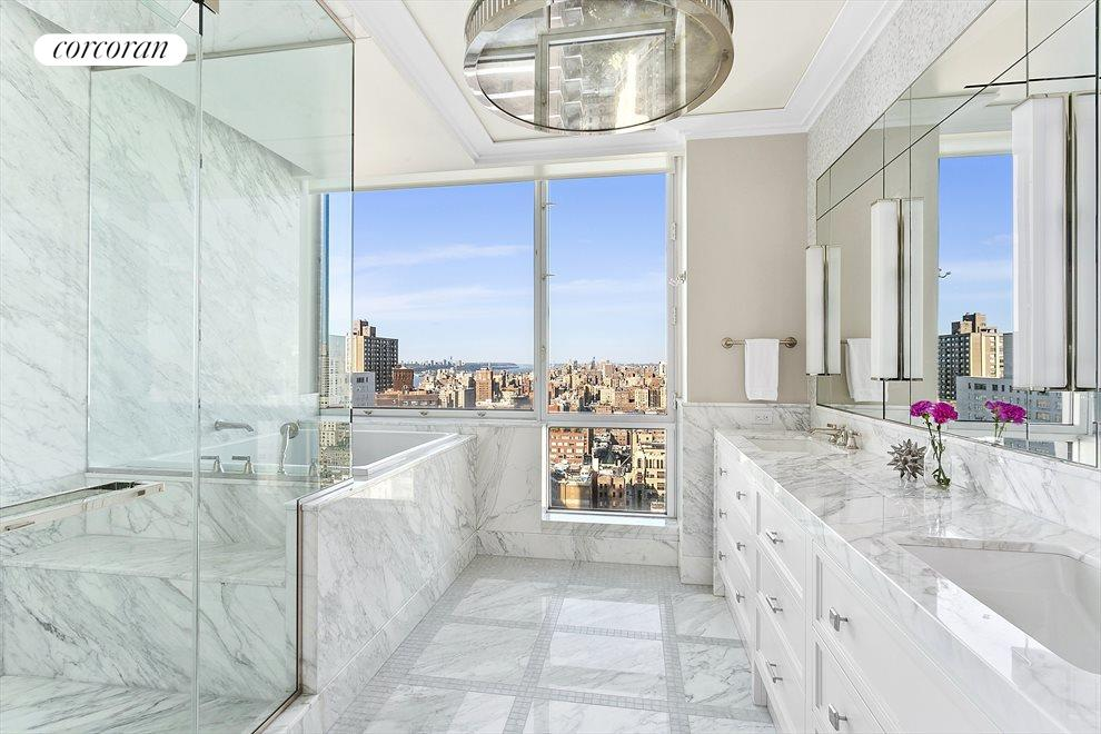 New York City Real Estate | View 1965 Broadway, #PH2B | Master Bathroom