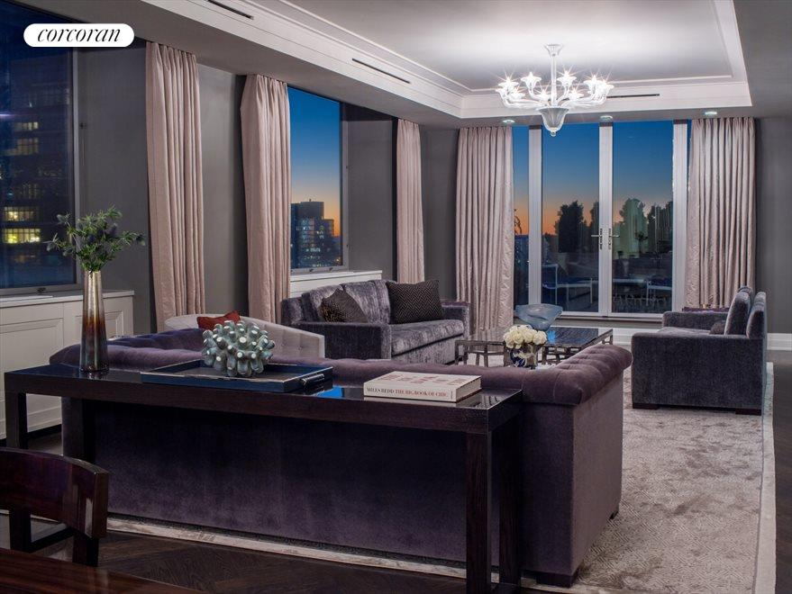New York City Real Estate | View 1965 Broadway, #PH2B | Living Room